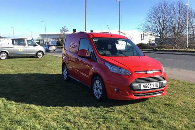 Ford Transit Connect 1.6TDCi 115 200 Limited Panel Van